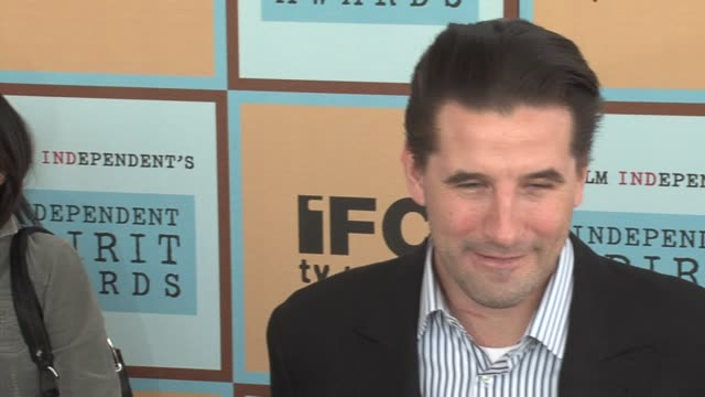 william baldwin at the the 21st annual ifp independent spirit awards in santa monica california on march 4 2006 - ifp independent spirit awards stock videos and b-roll footage