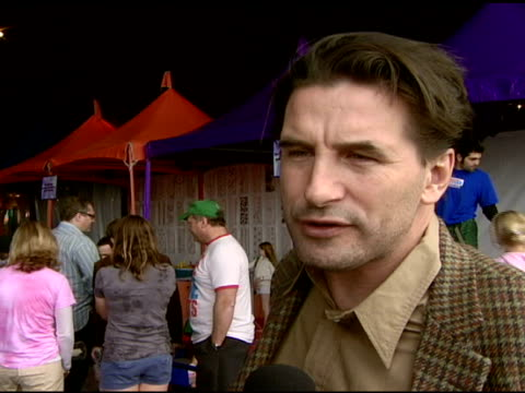 William Baldwin on attending the event on the importance of art education in school on if his children are artistic and his favorite art class when...