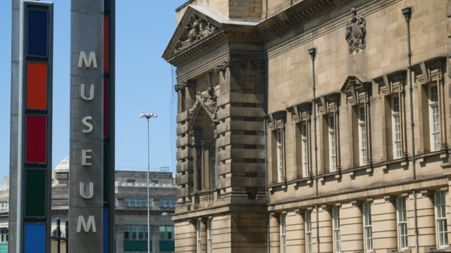 william brown library and museum, liverpool - museum stock videos & royalty-free footage