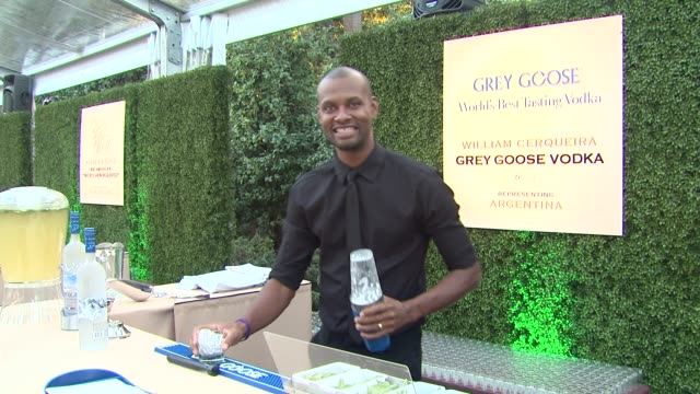 william cerqueira at a taste of the world presented by breeders' cup grey goose vodka on 11/2/2012 in pasadena ca - grey goose vodka stock videos & royalty-free footage