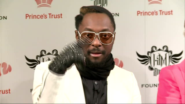 william donation to prince's trust science initiative william / prince's trust press conference continued william photocall standing with other... - will.i.am stock videos & royalty-free footage