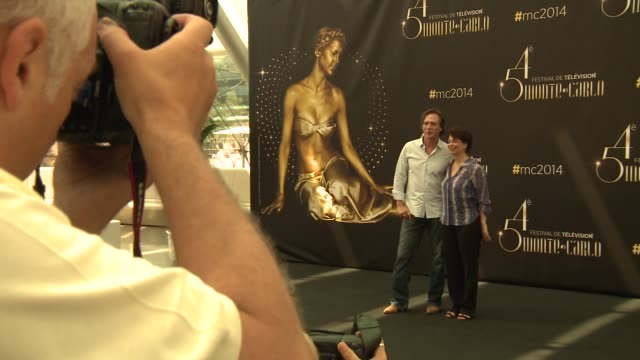 william fichtner at 54th montecarlo television festival day 2 on june 08 2014 in montecarlo monaco - day 2 stock videos & royalty-free footage