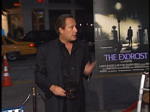 vidéos et rushes de william freidkin at the the exorcist premiere at westwood in westwood ca - william friedkin