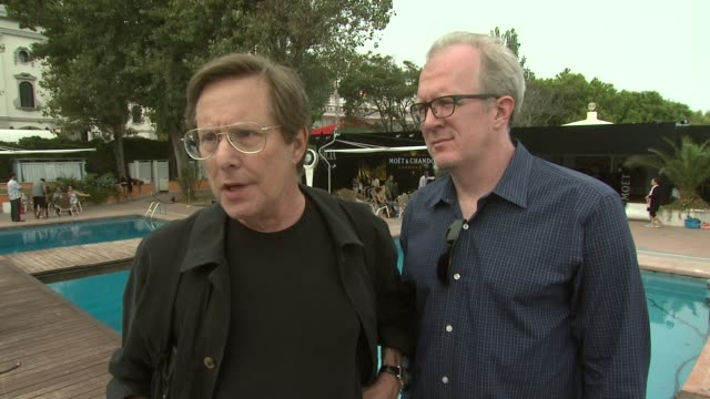 vidéos et rushes de william friedkin and tracy letts on how they work together the language of the script how it works at the killer joe interviews venice film festival... - william friedkin