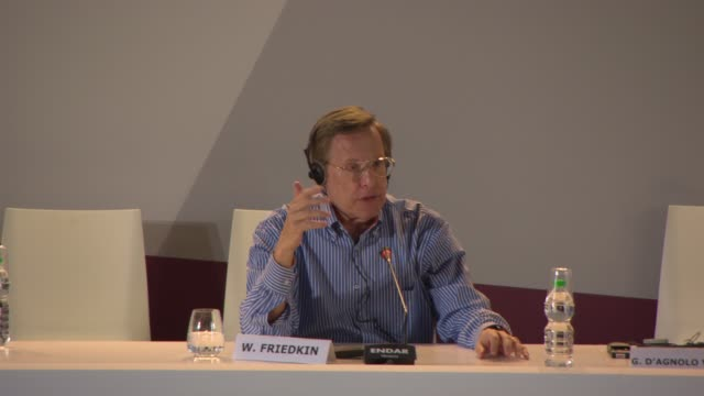 vidéos et rushes de interview william friedkin on cable television being better than cinema at golden lion for lifetime achievement award william friedkin press... - william friedkin