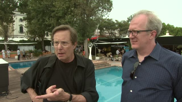 vidéos et rushes de william friedkin on how anyone could have directed the film but it's tracey letts story that made it at the killer joe interviews venice film... - william friedkin