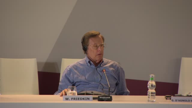 vidéos et rushes de interview william friedkin on 'the exorist' the power of faith at golden lion for lifetime achievement award william friedkin press conference on... - william friedkin