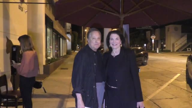 vidéos et rushes de william friedkin sherry lansing leave dinner at craig's in west hollywood in celebrity sightings in los angeles - william friedkin