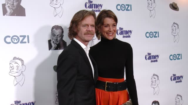william h. macy and wendie malick at the the 3rd annual carney awards at the broad stage on october 29, 2017 in santa monica, california. - wendie malick stock videos & royalty-free footage