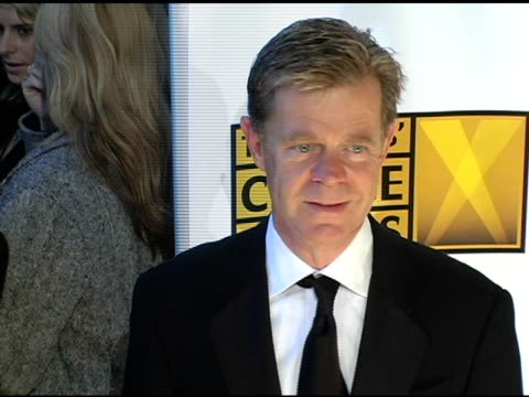william h macy at the 2005 critics' choice awards at the wiltern theater in los angeles california on january 10 2005 - wiltern theatre stock videos and b-roll footage
