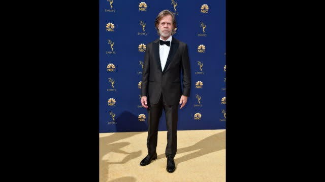 vídeos de stock, filmes e b-roll de william h macy attends the 70th emmy awards at microsoft theater on september 17 2018 in los angeles california - 70th annual primetime emmy awards