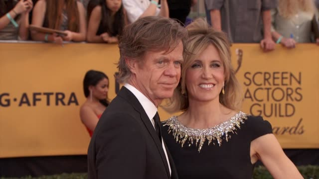 William H Macy Felicity Huffman at 21st Annual Screen Actors Guild Awards Arrivals in Los Angeles CA