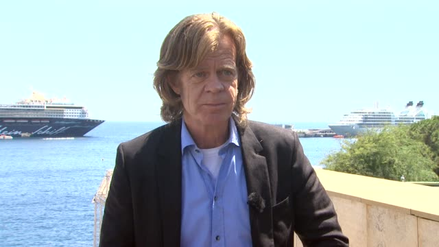 william h macy jokes that monte carlo is an odd place for a city on going to the palace and meeting the prince on monaco's coat of arms at the 51st... - prince stock videos and b-roll footage