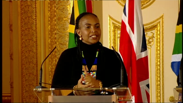 william hague and maite nkoanamashabane joint press conference william hague and maite nkoanamashabane qa session sot is there difference of opinion... - constitution stock videos and b-roll footage