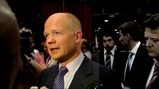 william hague continues to deny relationship with former advisor 2942010 west midlands birmingham university william hague mp with christopher myers... - west midlands stock videos and b-roll footage