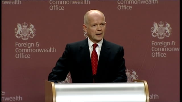 london foreign office int william hague mp speech sot this is an unusual topic for a foreign secretary to discuss in public but there are important... - domestic staff stock videos & royalty-free footage