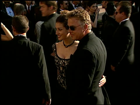 william l petersen at the 2002 emmy awards at the shrine auditorium in los angeles california on september 22 2002 - william petersen stock videos & royalty-free footage