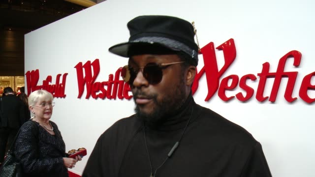 interview william on what brings him out what he's most looking forward to seeing at the newly renovated westfield century city and talks about his... - will.i.am stock videos & royalty-free footage