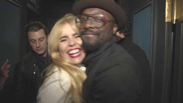 william paloma faith at the voice secret gig on march 23 2016 in london england - will.i.am stock videos & royalty-free footage