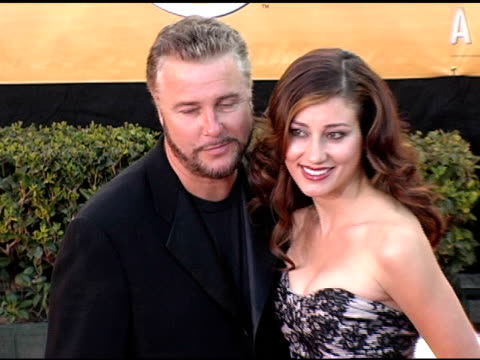 william patterson at the 2005 screen actors guild sag awards arrivals at the shrine auditorium in los angeles california on february 5 2005 - william petersen stock videos & royalty-free footage
