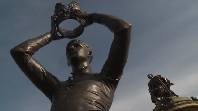william shakespeare's hometown is bracing for a surge in visitors from around the world this month as it marks 400 years since the death of the... - scriptwriter stock videos & royalty-free footage