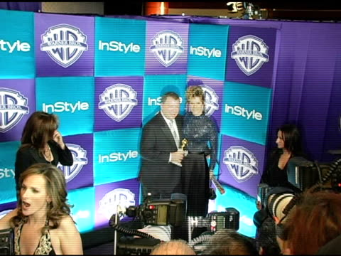 william shatner and elizabeth anderson martin at the in style magazine and warner brothers studios 6th annual golden globe party at the beverly... - william shatner stock videos & royalty-free footage