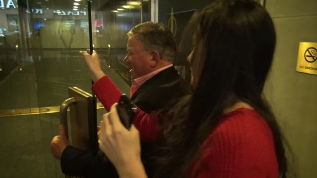 william shatner and elizabeth shatner at the today show set at rockefeller center on october 21, 2014 in new york city. - william shatner stock videos & royalty-free footage