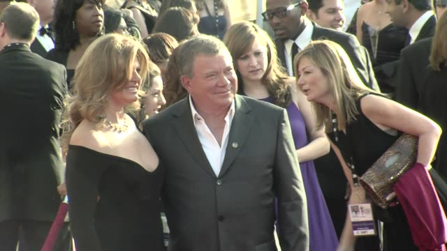 william shatner at the 15th annual screen actors guild awards part 4 at los angeles ca. - william shatner stock videos & royalty-free footage