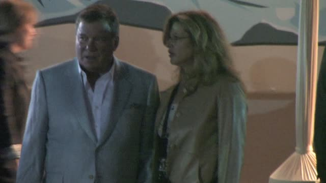 william shatner at the cbs fall season premiere at colony in hollywood at the celebrity sightings in los angeles at los angeles ca. - william shatner stock videos & royalty-free footage