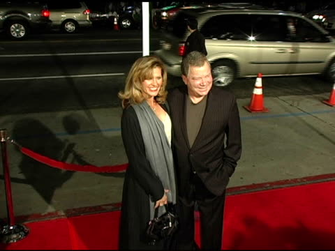 william shatner at the 'miss congeniality 2: armed and fabulous' us premiere at grauman's chinese theatre in hollywood, california on march 23, 2005. - william shatner stock videos & royalty-free footage
