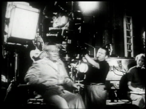 William Wyler on film set / Elia Kazan adjusting Vivien Leigh's dress with Tennessee Williams behind them / Joseph Mankiewicz accepting Oscar / John...