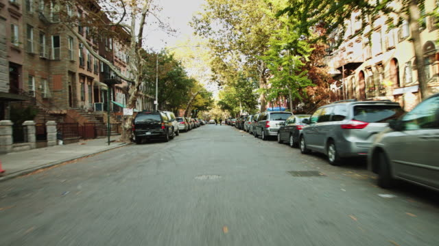 vidéos et rushes de williamsburg, nyc - driving pov - destination de voyage