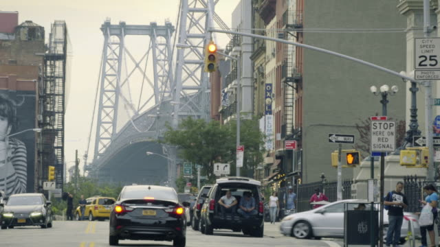 williamsburg traffic - bicycle parking station stock videos and b-roll footage