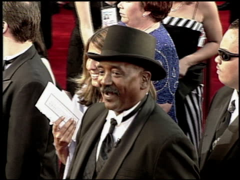 willie fulgear at the 2000 academy awards at the shrine auditorium in los angeles california on march 26 2000 - 72nd annual academy awards stock videos and b-roll footage