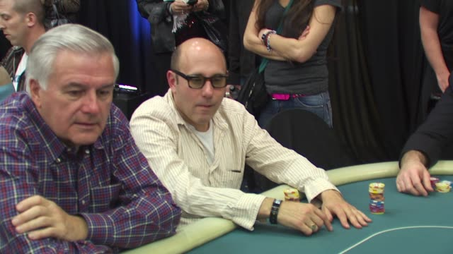 willie garson at the 8th annual wpt invitational at city of commerce ca. - ウィリー ガーソン点の映像素材/bロール