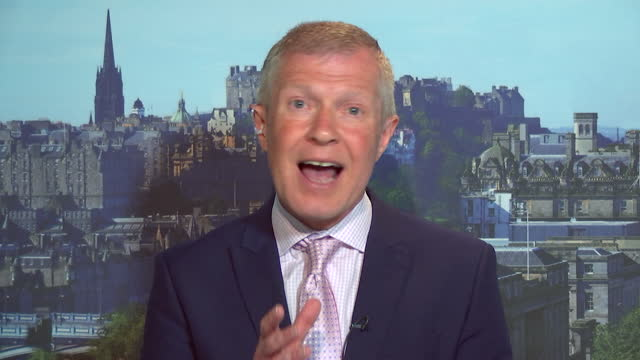 willie rennie saying the liberal democrats want to persuade people to rejoin the eu in the long run - aspirations stock videos & royalty-free footage