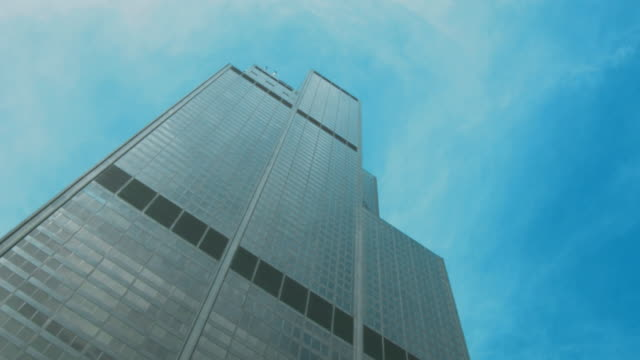 willis tower - sears tower chicago - willis tower stock videos and b-roll footage