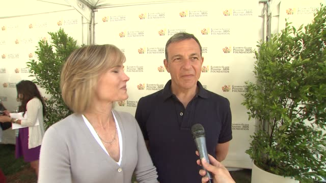 Willow Bay and Bob Iger on today's event on the work EGPAF does and on what they'd like other to know about the Foundation at 23rd Annual 'A Time For...