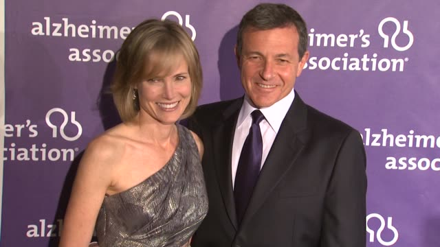 Willow Bay Robert A Iger at the 19th Annual 'A Night At Sardi's' Benefitting The Alzheimer's Association at Beverly Hills CA