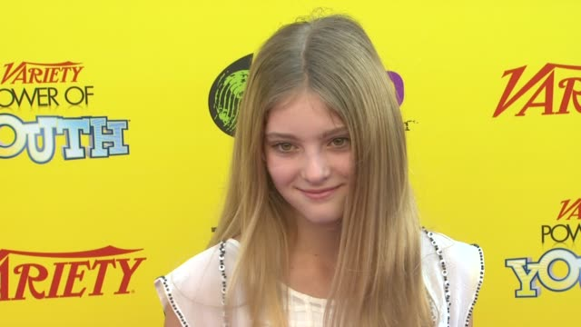 Willow Shields at the Variety's 5th Annual Power Of Youth Event at Los Angeles CA