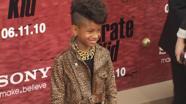 Willow Smith at the 'The Karate Kid' Premiere at Westwood CA