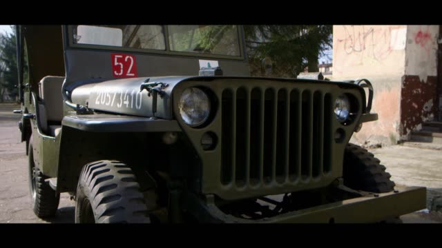 willys mb - bonnet stock videos & royalty-free footage