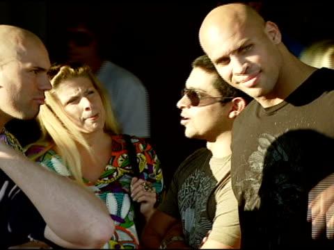 Wilmer Valderama at the Bra Boys BBQ presented by AnheuserBusch at Polaroid Beach House in Malibu California on August 19 2007