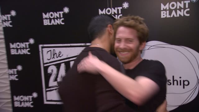 Wilmer Valderama Seth Green at Montblanc Presents The 3rd Annual 24 Hour Plays In Los Angeles on 6/22/13 in Los Angeles CA