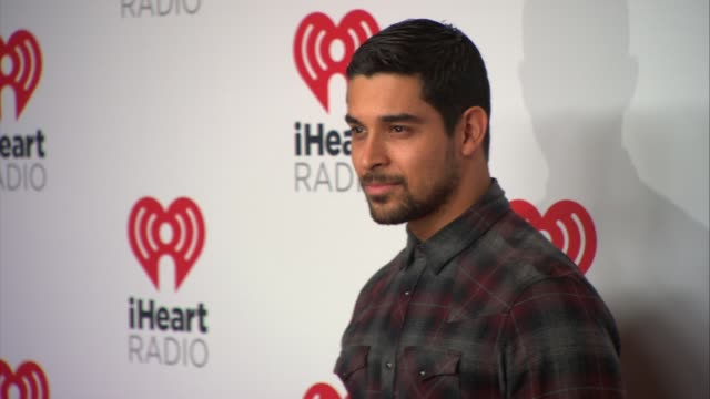 wilmer valderrama at 2015 iheartradio music festival daytime village day two on september 19 2015 in las vegas nevada - wilmer valderrama stock videos & royalty-free footage