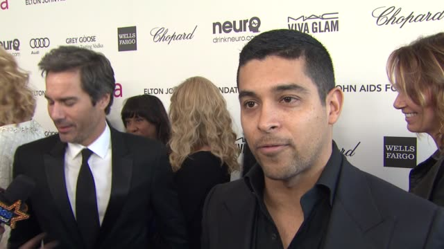 INTERVIEW Wilmer Valderrama at Elton John AIDS Foundation Presents 21st Annual Academy Awards Viewing Party Sponsored By Chopard Neuro Drinks And...