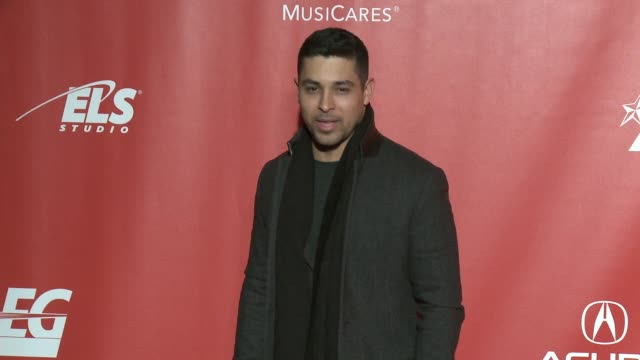 wilmer valderrama at musicares person of the year honoring tom petty in los angeles ca - wilmer valderrama stock videos & royalty-free footage