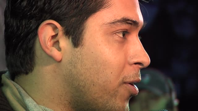 wilmer valderrama at the 2006 sundance film festival the darwin awards premiere at the eccles theatre in park city, utah on january 25, 2006. - wilmer valderrama stock videos & royalty-free footage