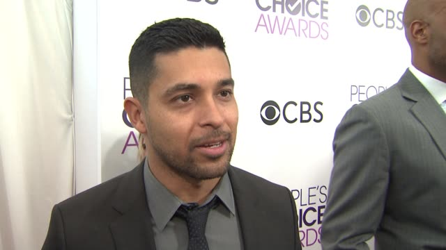 interview wilmer valderrama at the 2017 people's choice awards nominations announcement at the paley center for media on november 15 2016 in beverly... - wilmer valderrama stock videos & royalty-free footage