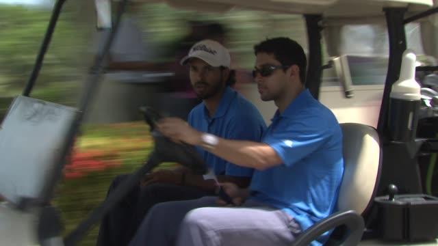 wilmer valderrama at the 2nd annual amaury nolasco friends golf classic at fajardo - wilmer valderrama stock videos and b-roll footage